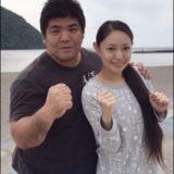 泉浩と嫁の画像