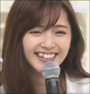 スッキリの鈴木愛理の歯並びの画像