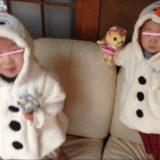 YUIの双子の子供の画像
