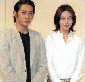 反町隆史さんと松嶋菜々子さんの画像