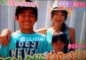 原田龍二の家族の画像