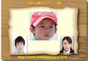 天野浩成と雛形あきこの子供の画像