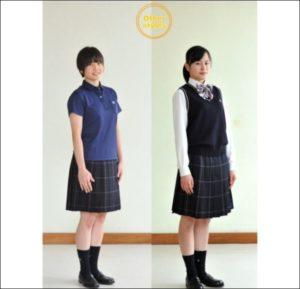 青森山田高校の制服画像
