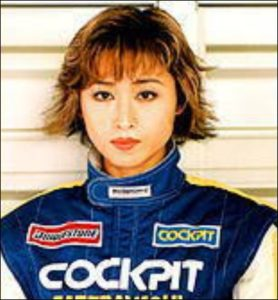 三原じゅん子のカーレーサー時代の画像