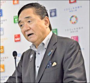 神奈川県知事の黒岩祐治知事の画像