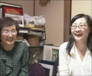 吉野彰の妻と娘:裕子の画像