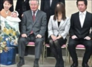 高橋祐也の元妻と子供の画像