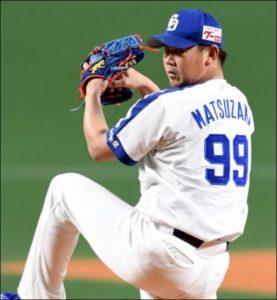 松坂大輔投手の画像
