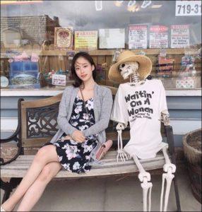 ユアンのかわいい私服姿の画像