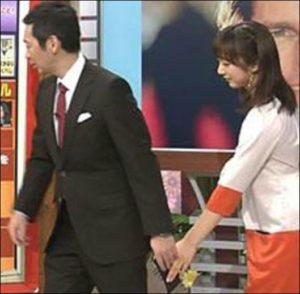 川田裕美と宮根の画像
