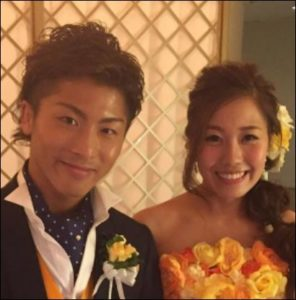 井上尚弥と嫁・咲弥の画像